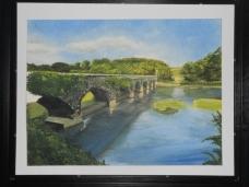 Eight Arch Bridge at Bosherston Lake.